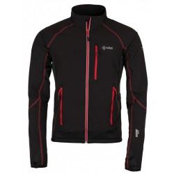 Kilpi Nordim-M černá/červená pánská větruodolná bunda