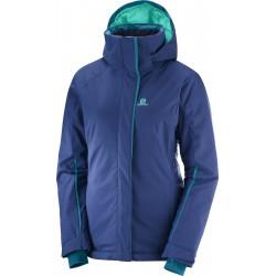 Salomon Stormpunch Jacket W medieval blue 404445