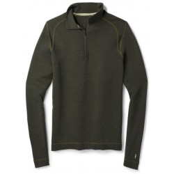 Smartwool M MERINO 250 BASELAYER 1/4 ZIP olive heather