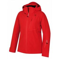 Husky Mayni L červená pánská nepromokavá zimní lyžařská bunda