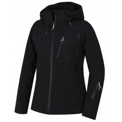 Husky Mayni L černá dámská nepromokavá zimní lyžařská bunda1