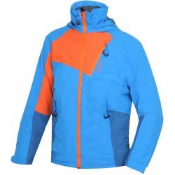 Husky Zawi Kids modrá dětská nepromokavá zimní lyžařská bunda