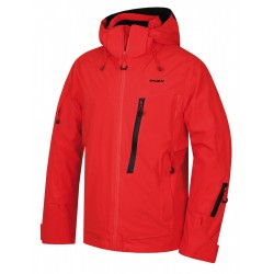 Husky Mayni M červená pánská nepromokavá zimní lyžařská bunda1