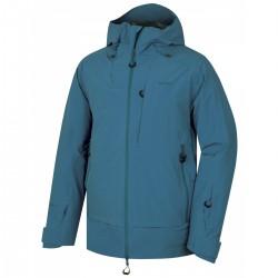Husky Gombi M tmavě modrá pánská nepromokavá zimní lyžařská bunda