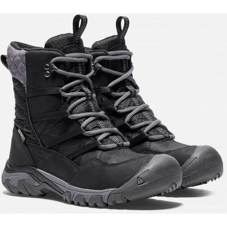 05b30cefc1 Keen Hoodoo III Lace Up WP W black magnet dámské zimní nepromokavé boty