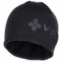 Kilpi Camo-M tmavě šedá pánská pletená čepice