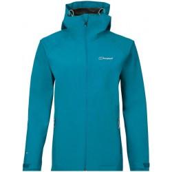 Berghaus Paclite 2.0 Shell Jacket W turquoise dámská nepromokavá bunda (1)