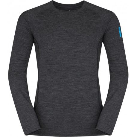 6fb391128 Zajo Bjorn Merino T-shirt LS black pánské triko dlouhý rukáv Merino vlna