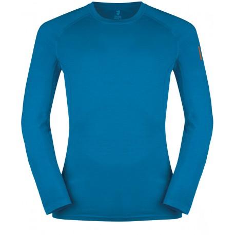 fe5e4c773 Zajo Bjorn Merino T-shirt LS greek blue pánské triko dlouhý rukáv Merino  vlna