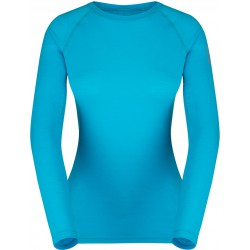 Zajo Elsa Merino W T-shirt LS curacao dámské triko dlouhý rukáv Merino vlna