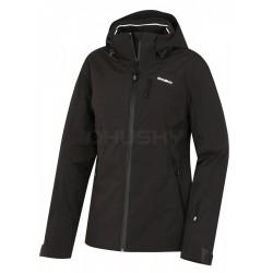 Husky Menau L černá dámská nepromokavá zimní lyžařská bunda (1)