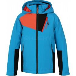 Husky Zawi Junior tmavě modrá dětská nepromokavá zimní lyžařská bunda