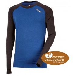 Progress CC NDR modrá pánské triko dlouhý rukáv coffee collection 1