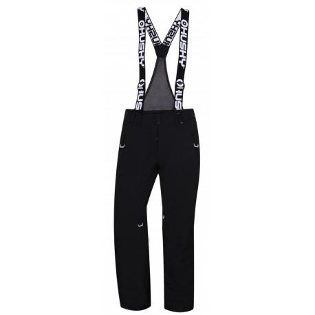 Husky Mithy L černá dámské nepromokavé zimní lyžařské kalhoty