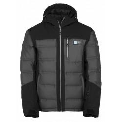 Kilpi Helios-M tmavě šedá pánská nepromokavá zimní lyžařská bunda