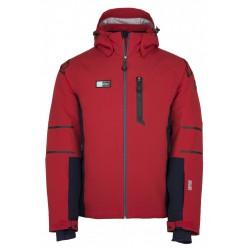 Kilpi Carpo-M červená pánská nepromokavá zimní lyžařská bunda