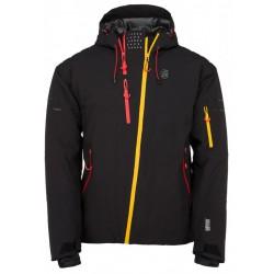 Kilpi Asimetrix-M černá pánská nepromokavá zimní lyžařská bunda (1)