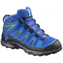 Salomon X-Ultra Mid GTX J blue yonder/bright blue 390294