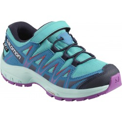 Salomon XA Pro 3D CSWP K blue bird/fjord blue/purple 406480