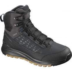 Salomon Kaipo Mid GTX black/phantom/poseidon 404733 pánské zimní nepromokavé boty