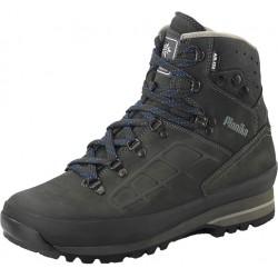Planika Forester Pro ATX tmavá šedomodrá unisex nepromokavé kožené trekové boty