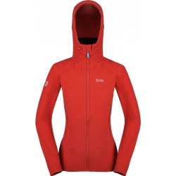 Zajo Air LT Hoody W Jkt racing red dámská softshellová bunda