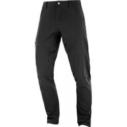 Salomon Wayfarer Tapered Pant M black C11014 pánské lehké turistické kalhoty střihy