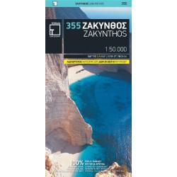 TERRAIN 355 Zakynthos 1:50 000 turistická mapa (1)
