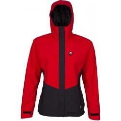 High Point Revol Lady Jacket red/black dámská nepromokavá bunda BlocVent 2L DWR