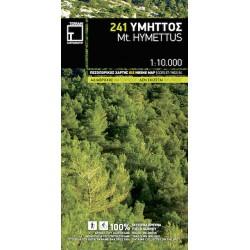 TERRAIN 241 Mt. Hymettus 1:10 000 turistická mapa (2)
