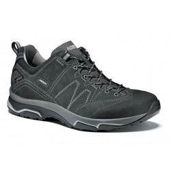 Asolo Agent Evo GV MM GTX graphite pánské nízké nepromokavé kožené boty
