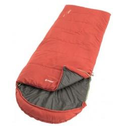 Outwell Campion Lux red třísezónní dekový spací pytel Isofill (5)