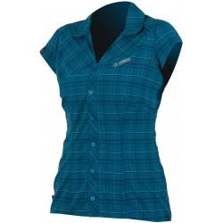 Direct Alpine Sandy lady petrol dámská košile krátký rukáv