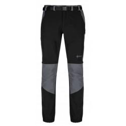 Kilpi Hosio-M černá pánské odepínací turistické kalhoty1