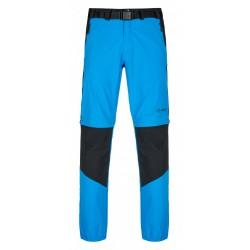 _Kilpi Hosio-M modrá pánské odepínací turistické kalhoty změřeno