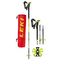 Leki Tour Stick Vario Carbon, model 2018 pětidílné skládací trekové hole bez odpružení
