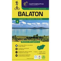 Cartographia Balaton 1:40 000 turistická mapa