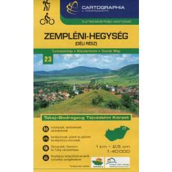 Cartographia  Zemplínské vrchy jih (Zempléni-Hegység) 1:40 000 turistická mapa