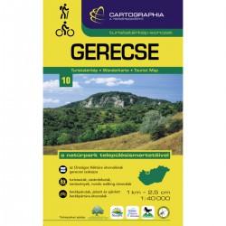Cartographia Gerecse 1:40 000 turistická mapa