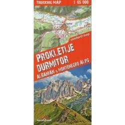 TerraQuest Prokletije, Durmitor - Albánské a Černohorské alpy oblast