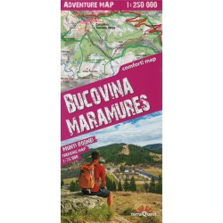 TerraQuest Bucovina, Maramureš 1:250 000 automapa, Rodna oblast