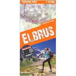 TerraQuest Elbrus 1:50 000 turistická mapa