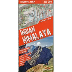 TerraQuest Indický Himálaj (Indian Himalaya) 1:350 000 turistická mapa