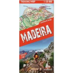 TerraQuest Madeira 1:50 000 turistická mapa oblast