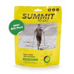Summit To Eat Dušené hovězí ve vlastní šťávě s bramborem 2 porce expediční strava