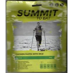 Summit To Eat Kuře Fajita s rýží 1 porce expediční strava