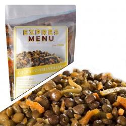 Expres Menu Čočka po orientálsku 600 g 2 porce sterilované jídlo na cesty