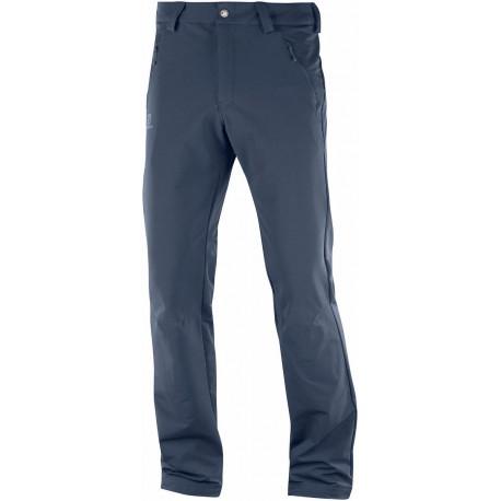 Salomon Wayfarer Warm Straight Pant M night sky 404088 pánské turistické kalhoty