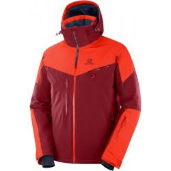 _Salomon Icespeed Jkt M biking red/ch.tomato C12222