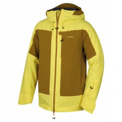 Husky Gotha M světle žlutá pánská nepromokavá zimní lyžařská bunda